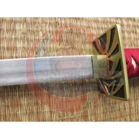 Espada Anime Bleach de Renji Abarai Unawaken Roja