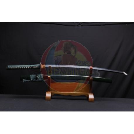 Katana Japonesa alta calidad templada con arcilla