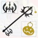 Kingdom Hearts Llave Espada del Mundo de Halloween Town