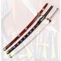 Juego de 3 espadas de Zoro One Piece de Madera