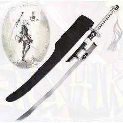 Nier Automata YoRHa 2B espada acero