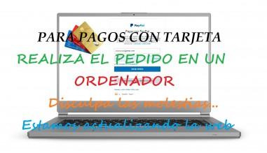 PAGA CON TARJETA DESDE EL ORDENADOR SIN USAR PAYPAL
